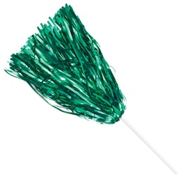 Metallic Spirit Pom - Green