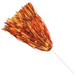 Metallic Spirit Pom - Orange