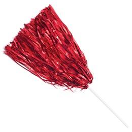 Metallic Spirit Pom - Red