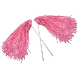 Pink Economy Pom Pom - 2pk