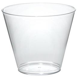 Clear Plastic Tumblers, 9 oz.