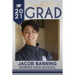 Graduation Photo Banner - Congratulations Grad