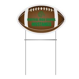 Football Yard Signs Set