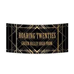 Vinyl Banner - Art Deco