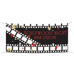 Vinyl Banner - Hollywood Film Stars