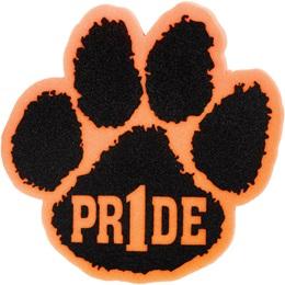 """Pr1de"" Foam Paw Mitt - Orange/Black"