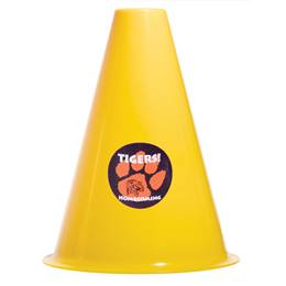 Bright Yellow Megaphone with Sticker