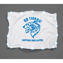 Light-up LED Rally Towel