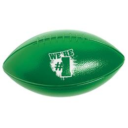 We're #1 Sport Football - Green and White