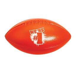 We're #1 Sport Football - Red and White