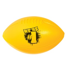 We're #1 Sport Football - Yellow and Black