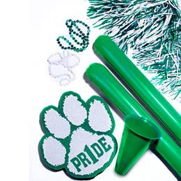 Deluxe Paw Pride Pack - Green/White