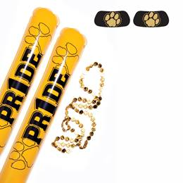 Black/Gold Paw Pride Pack