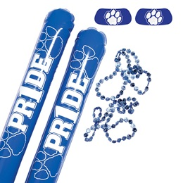 Blue/White Paw Pride Pack
