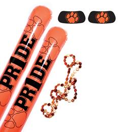 Orange/Black Paw Pride Pack