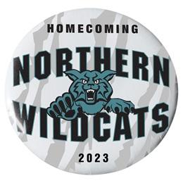 "2 1/4"" Custom Button - Homecoming Wildcats"