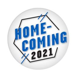 "2 1/4"" Custom Button - Homecoming 2021 Hexagon"