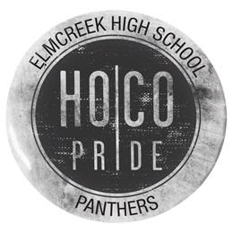3 in. Custom Button - HOCO Pride
