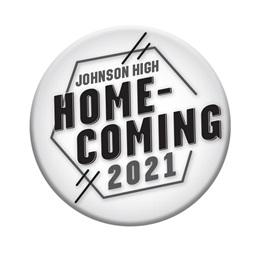 "3"" Custom Button - Homecoming 2021 Hexagon"
