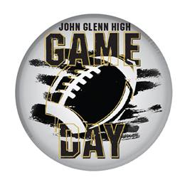 """3"""" Custom Button - Game Day"""
