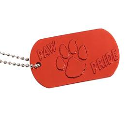 Paw Pride Dog Tag - Red