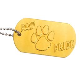 Paw Pride Dog Tag - Yellow