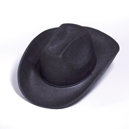Black Western Hat