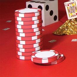 Bettin' High Poker Chips Stacks & Individual Chips Kit