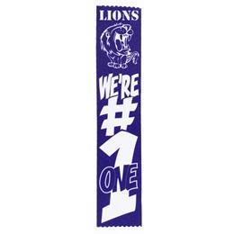 Spirit Ribbon - We're #1
