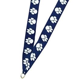 Paw Medallion Neck Ribbon