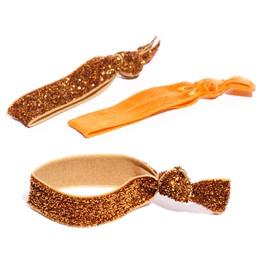 Spirit Hair Tie Set - Orange