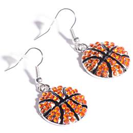 Spirit Basketball Earrings