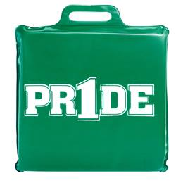 """Pr1de"" Seat Cushion - Kelly Green"