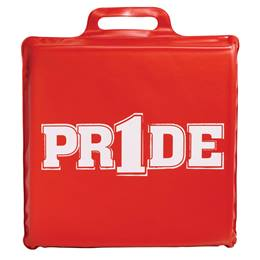 """Pr1de"" Seat Cushion - Red"