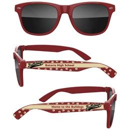 School Spirit Sunglasses - Bulldogs