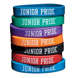 Junior Pride Silicone Wristband