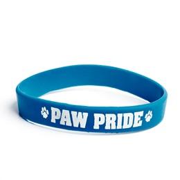 Paw Pride Wristband - Blue