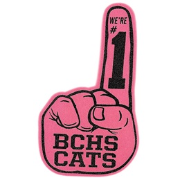 Pink #1 Foam Finger