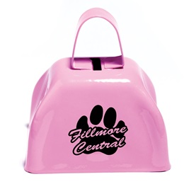 Pink Cow Bell
