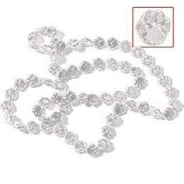 "White 33"" Paw Spirit Beads"