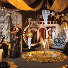 Golden Razzmatazz Complete Prom Theme