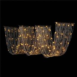 Wavy Lighted Curtain Kit