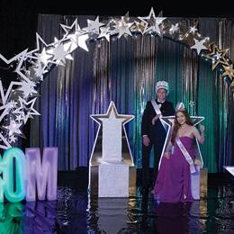 Glowing Prom Grandeur Complete Theme