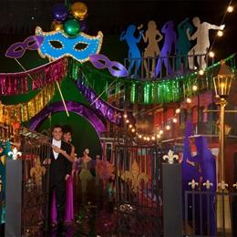 Mardi Gras Carnival Complete Theme