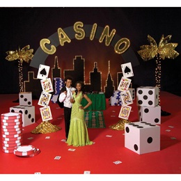 Casino and Vegas Prom Themes