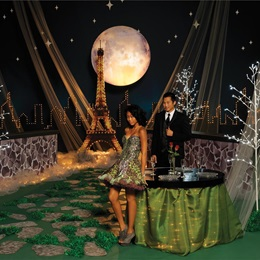 Paris by Moonlight Complete Theme