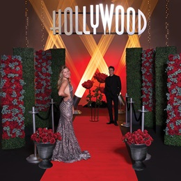 Red Carpet and Roses Complete Theme