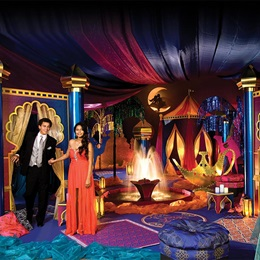 Aladdin's Paradise Complete Prom Theme