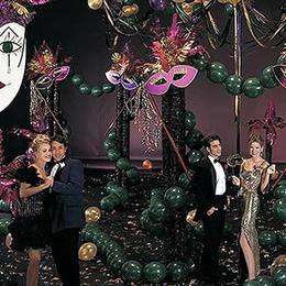 Mardi Gras Madness Complete Prom Theme Kit