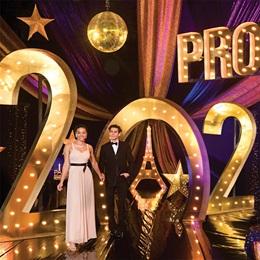 Prom a la Paris Complete Prom Theme